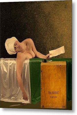 The Other Marat Metal Print