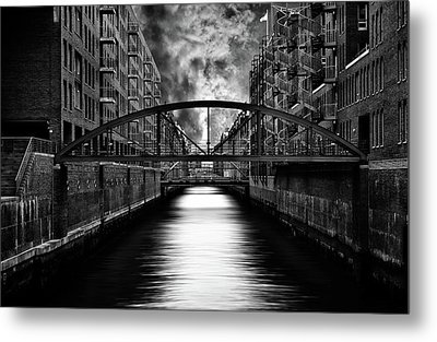 The Other Side Of Hamburg Metal Print by Stefan Eisele