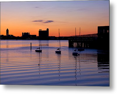The Other Side Of The Harbor Metal Print