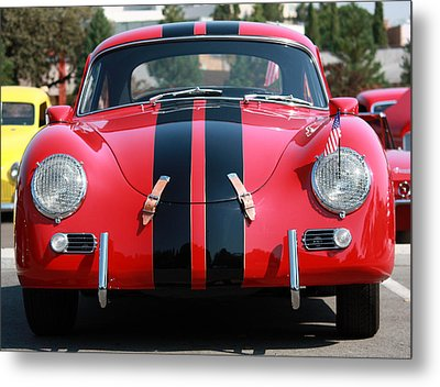 The Outlaw 356 Porsche Metal Print by Rita Kay Adams
