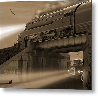The Overpass 2 Metal Print by Mike McGlothlen