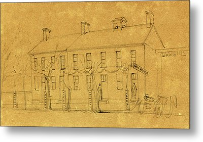 The Owens House Metal Print by Quint Lox