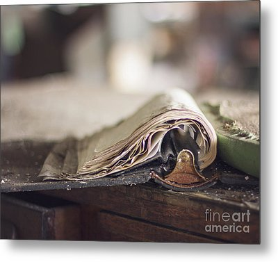 The Pages Metal Print