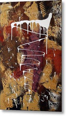 The Painter's Keys Metal Print by Laura Barbosa