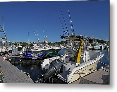 The Pala In Sesuit Harbor On Cape Cod Metal Print by Juergen Roth