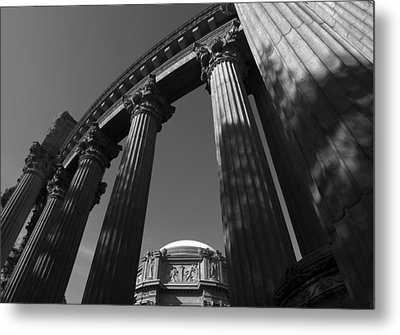 The Palace Of Fine Arts In San Francisco Metal Print
