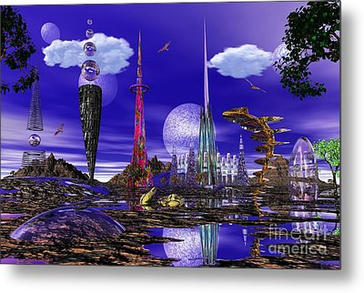 Metal Print featuring the photograph The Palace Of Prax by Mark Blauhoefer