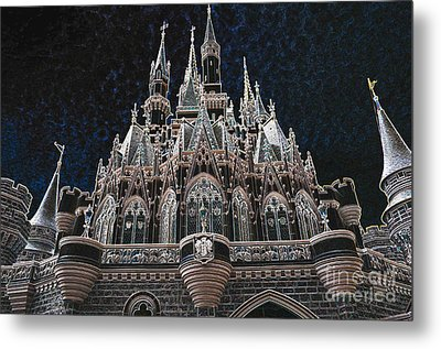 Metal Print featuring the photograph The Palace by Robert Meanor