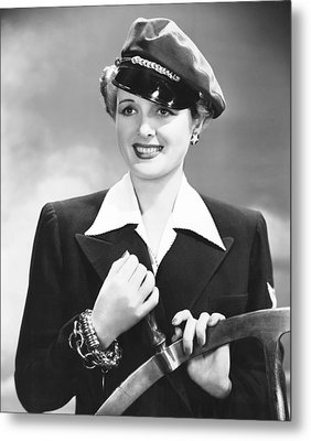 The Palm Beach Story, Mary Astor, 1942 Metal Print