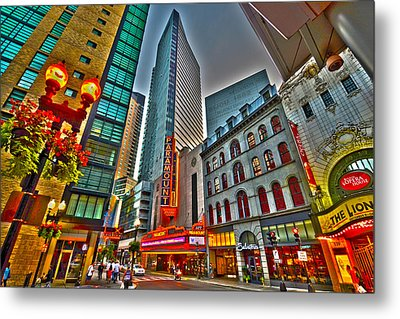 The Paramount Center And Opera House In Boston Metal Print
