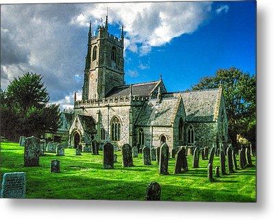 The Parish Church Of St. James Metal Print by Ross Henton