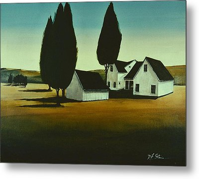 The Parson's House Metal Print