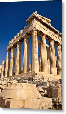 The Parthenon Metal Print by Brian Jannsen