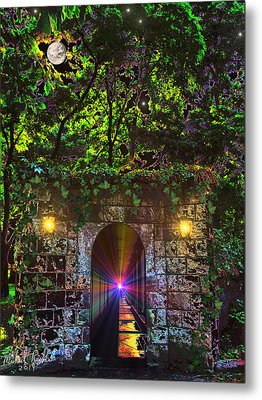 The Passageway  Metal Print by Michael Rucker