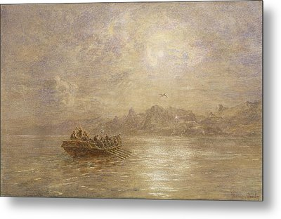 The Passing Of 1880 Metal Print by Thomas Danby