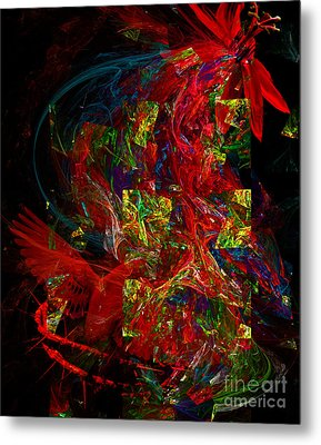 The Passion Metal Print by Olga Hamilton