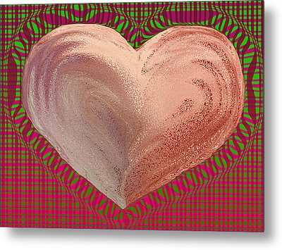 The Passionate Heart Metal Print by David Pantuso
