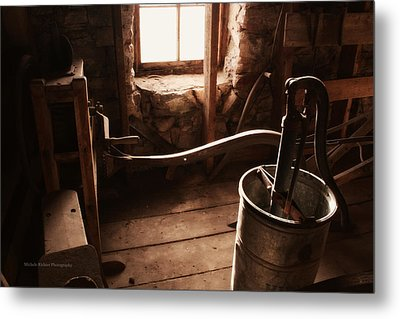 The Past Metal Print by Michele Richter