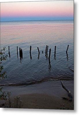 The Pastel Palette Of Whitefish Bay Metal Print