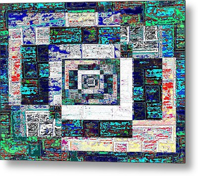 The Patchwork Metal Print by Tim Allen