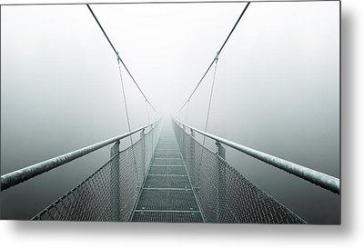The Path To Infinity Metal Print