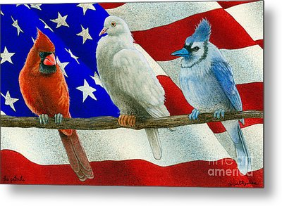 The Patriots... Metal Print by Will Bullas