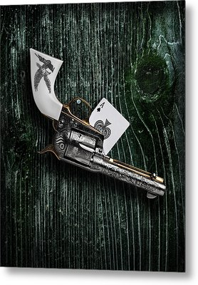 Metal Print featuring the photograph The Peacemaker by Krasimir Tolev
