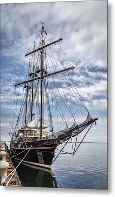 The Peacemaker Tall Ship Metal Print by Dale Kincaid