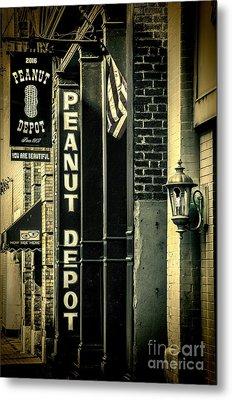 The Peanut Depot Metal Print