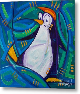 The Penguin Metal Print by Michael Ciccotello