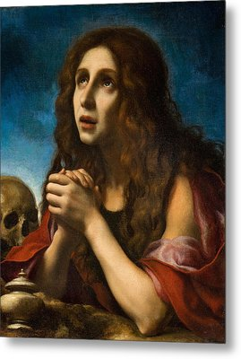The Penitent Magdalen Metal Print by Carlo Dolci