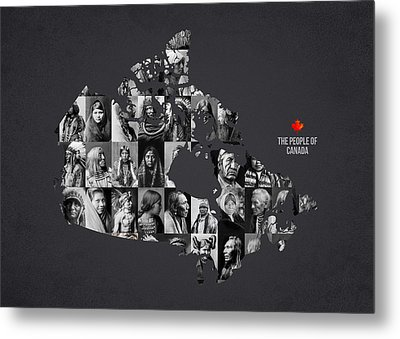 The People Of Canada Metal Print by Aged Pixel