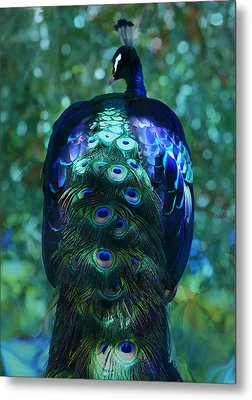 The Persian Bird Metal Print