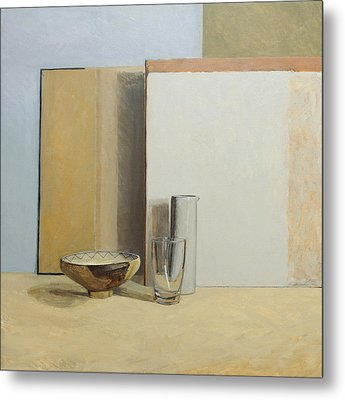 The Peruvian Bowl  Metal Print by William Packer