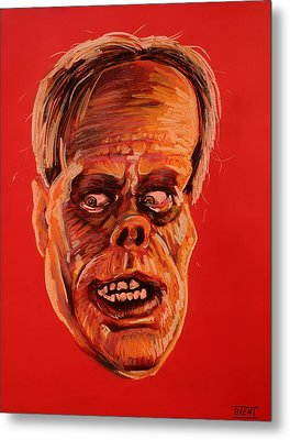 The Phantom Of The Opera Metal Print by Brent Andrew Doty