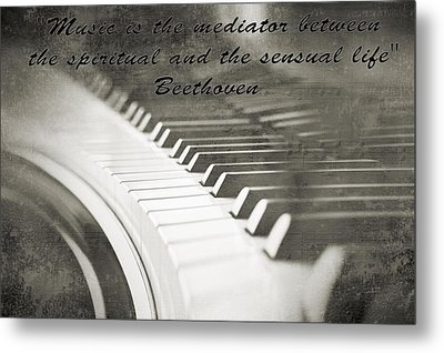 The Pianist Metal Print by Dan Sproul