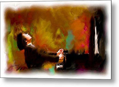 The Pianist Metal Print
