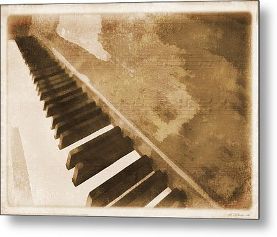 The Piano Metal Print by Dan Sproul