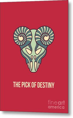 The Pick Of Destiny Metal Print by Freshinkstain