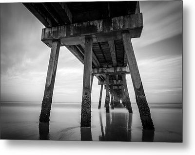 The Pier Metal Print by Clay Townsend