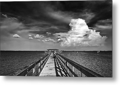 The Pier Metal Print by Marvin Spates