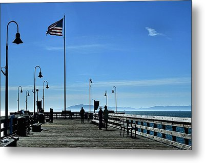 Metal Print featuring the photograph The Pier by Michael Gordon