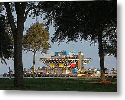 The Pier - St. Petersburg Fl Metal Print by HH Photography of Florida