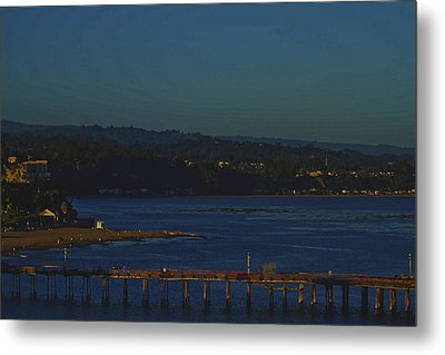 Metal Print featuring the photograph The Pier by Tom Kelly