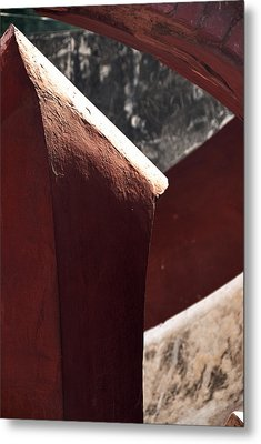 The Pillar Stands Metal Print