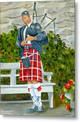 The Piper Metal Print