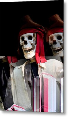 The Pirate's Ghost Metal Print by Maria Urso
