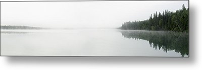 The Place Where Air Meets Water Metal Print