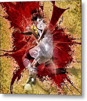 The Play Metal Print by Gordon Engebretson