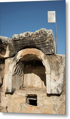 The Plutonion At Hierapolis Metal Print by David Parker